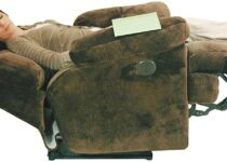 BEST LAY FLAT POWER RECLINER THE CATNAPPER RECLINER WITH CHAISE