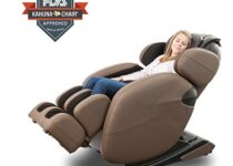Kahuna massage recliner for lower back pain