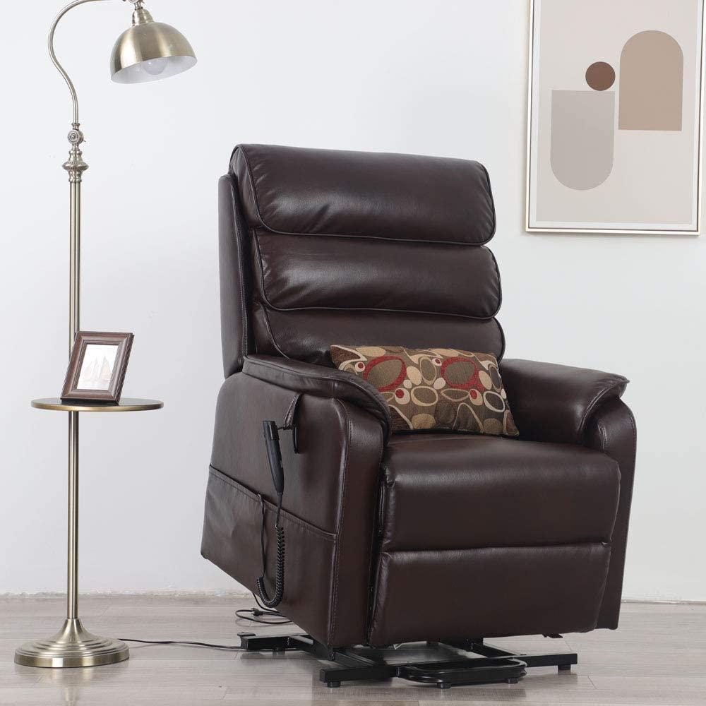 Irene House Dual OKIN Motor Lift Chair Recliners for Elderly