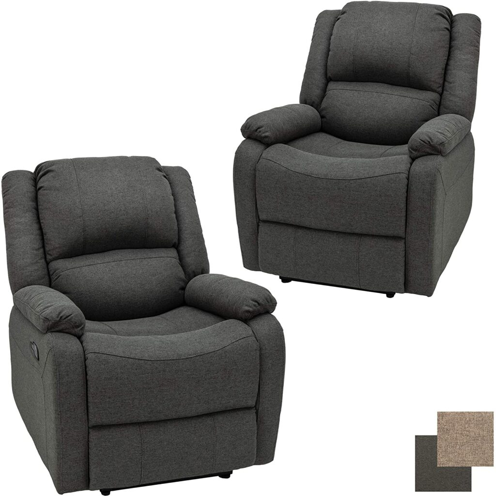 """Best wall hugger recliners for small spaces - RecPro Charles Collection 30"""" Zero Wall RV Recliner"""