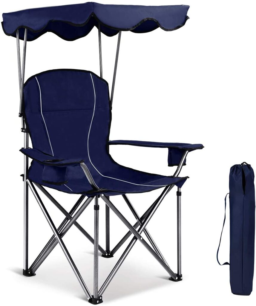Gymax Outdoor chair with canopy