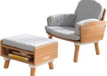 kids ottoman chair