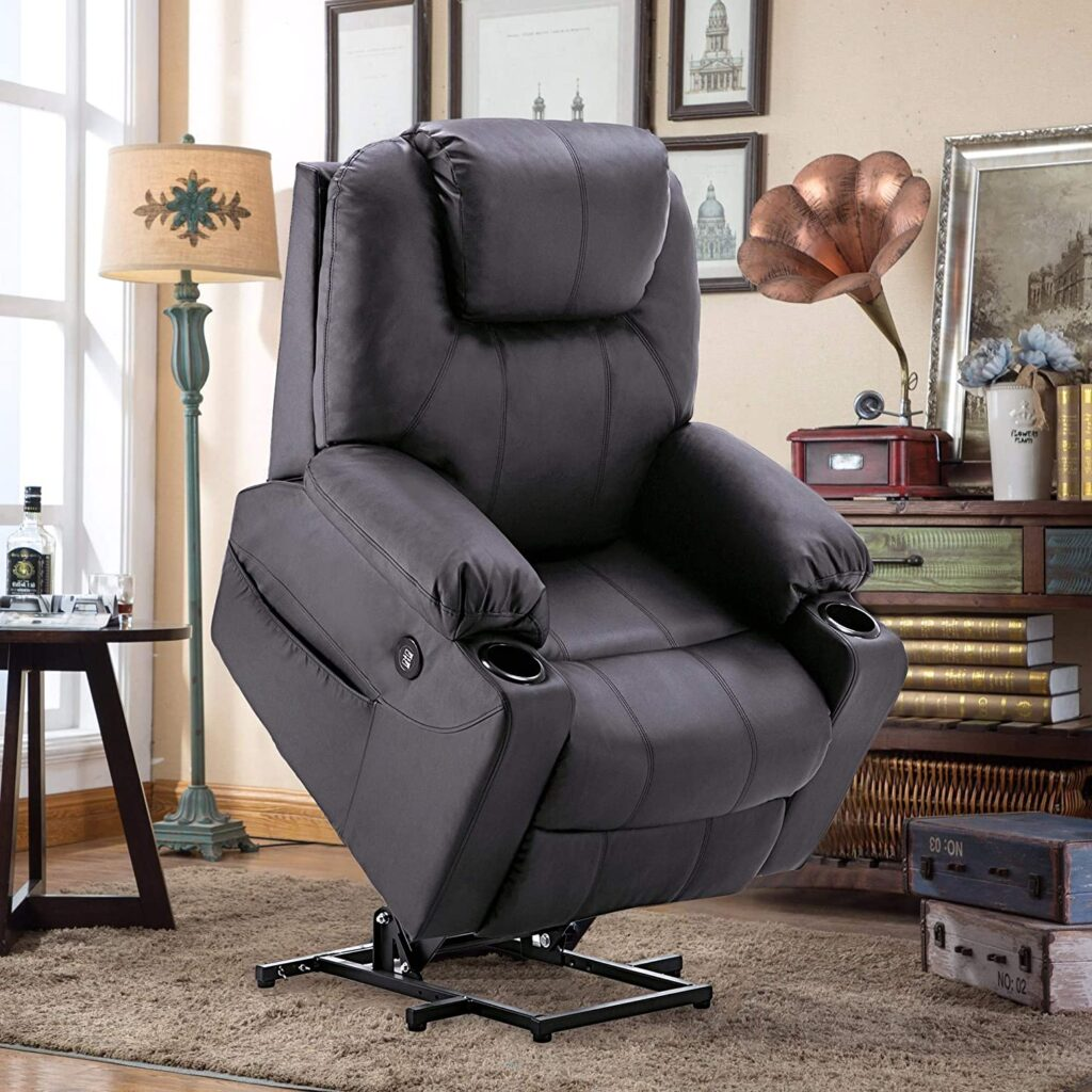 Best Power Lift Recliners with Heat and Massage Mcombo electric