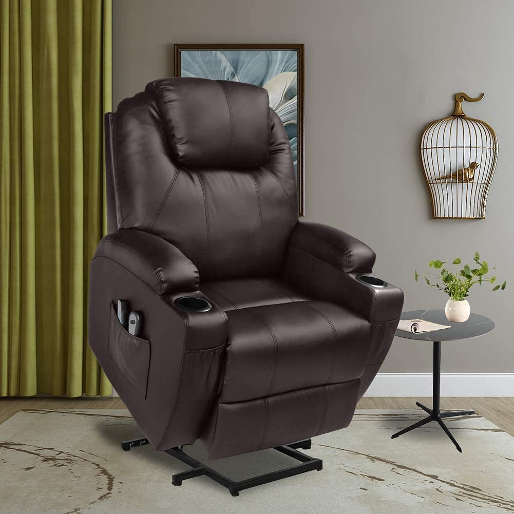 U-Max Power Lift recliner Chair Best Power Lift Recliners with Heat and Massage