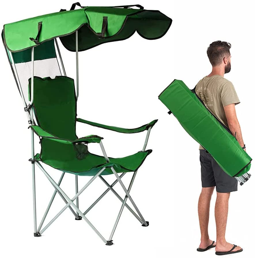 unhg Camp Chairs with Shade Canopy Chair
