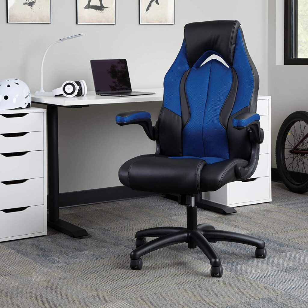 OFM High-Back Racing Style Leather Gaming Chair